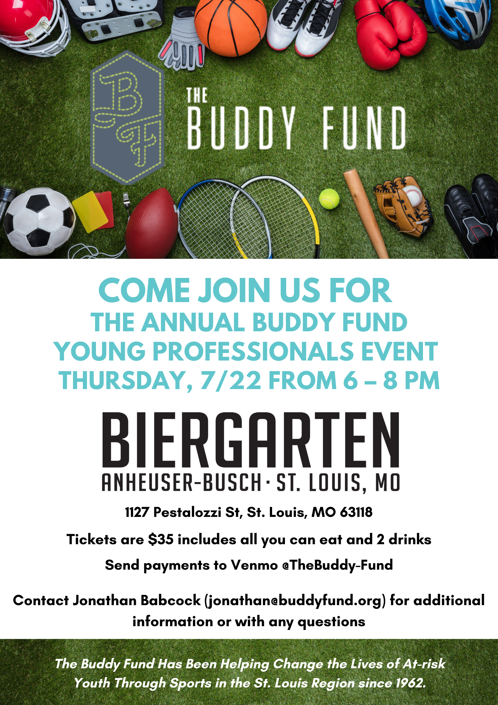 Buddy Fund Young Professionals Event