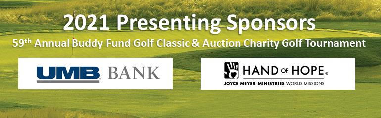 59th Annual Buddy Fund Golf Classic Presenting Sponsors